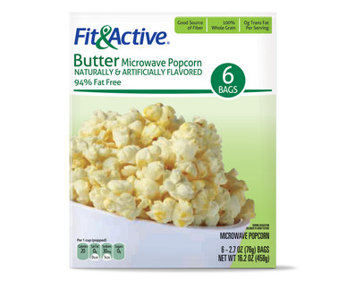 How Many Calories In A Bag Of Microwave Popcorn