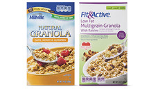 Millville or Fit & Active Granola