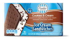 Sundae Shoppe Ice Cream Sandwiches