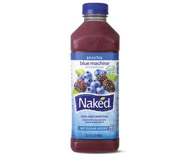 blue machine juice