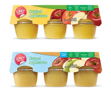 Lunch Buddies Applesauce Cups