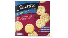 Savoritz Buttery Round Crackers