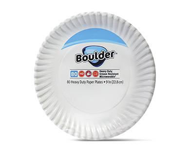 Boulder Heavy Duty Paper Plates