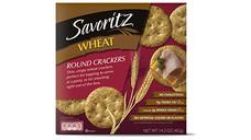 Savoritz Wheat Round Crackers