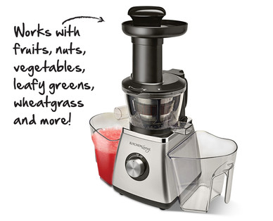 ALDI US - Kitchen Living Slow Juicer
