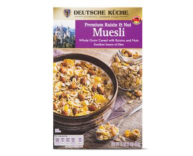 Deutsche Küche Raisin & Nut Muesli
