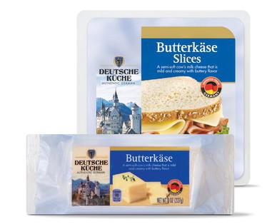 Deutsche Küche Butterkäse