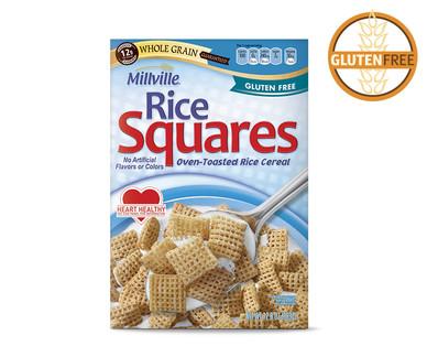 Aldi us millville rice squares cereal for Aldi international cuisine