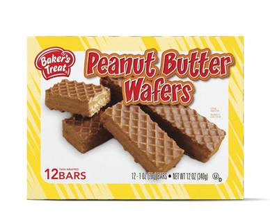 Baker's Treat Peanut Butter Wafers