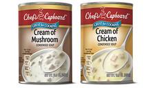 Chef's Cupboard Cream of Mushroom or Cream of Chicken Soup