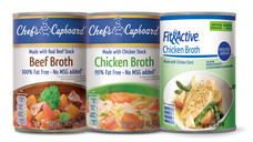 Chef's Cupboard or Fit & Active Canned Broth