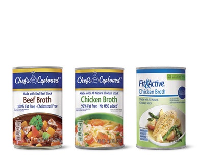 Chef's Cupboard or Fit & Active Broth