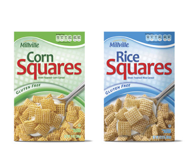 Millville Squares Cereal