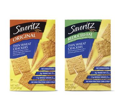 Savoritz Thin Wheat Crackers
