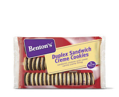 Benton's Duplex Sandwich Creme Cookies