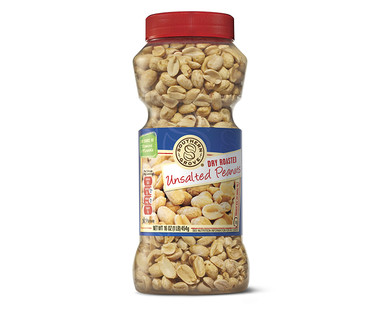 Southern Grove Dry Roasted Unsalted Peanuts