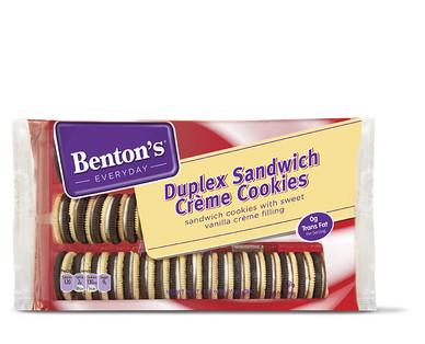 Benton's Duplex Sandwich Crèmes