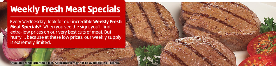 Fresh Meat Special Offers