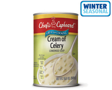 Chef's Cupboard Condensed Cream of Celery Soup