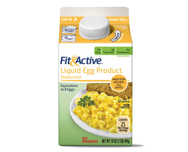 Egg substitute products