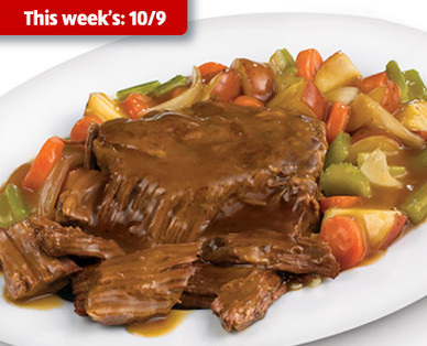 Cattlemen's Ranch Fresh Beef Pot Roast Kit