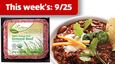 SimplyNature Fresh 85/15 Organic 100% Grass Fed Ground Beef