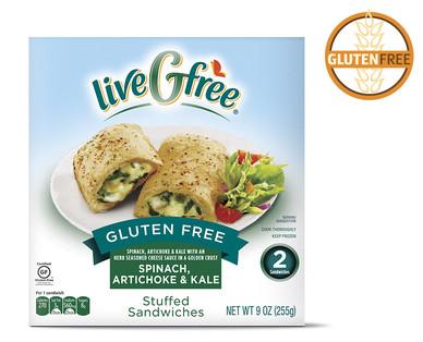 Aldi us livegfree gluten free spinach artichoke kale for Aldi international cuisine