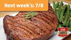 Fresh USDA Choice Twin-Pack Boneless Ribeye Steak