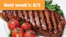 Fresh USDA Choice Boneless Strip Steak