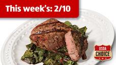 Fresh USDA Choice Beef Filet Mignon