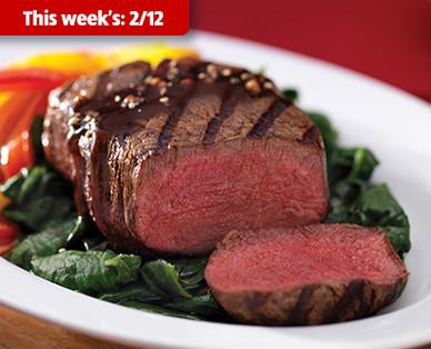 Fresh USDA Choice Beef Tenderloin Filet Mignon