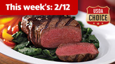 Fresh USDA Choice Beef Tenderloin Filet Mignon