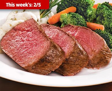 Cattlemen's Ranch Fresh USDA Choice Filet of Beef