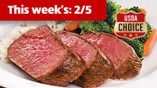Cattlemen's Ranch Fresh USDA Choice Filet of Beef