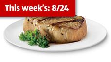 Fresh Thick Cut Boneless Pork Chops